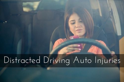 Distracted Driving Auto Injuries