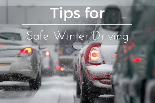 tips for safe winter driving
